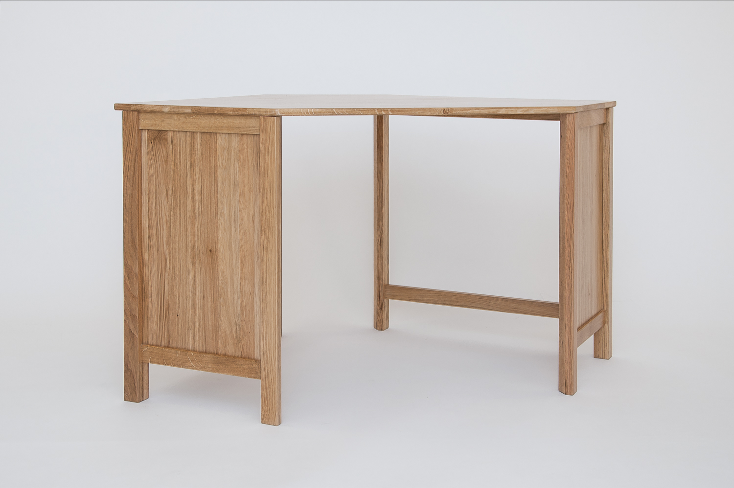 Hereford Oak Corner Desk