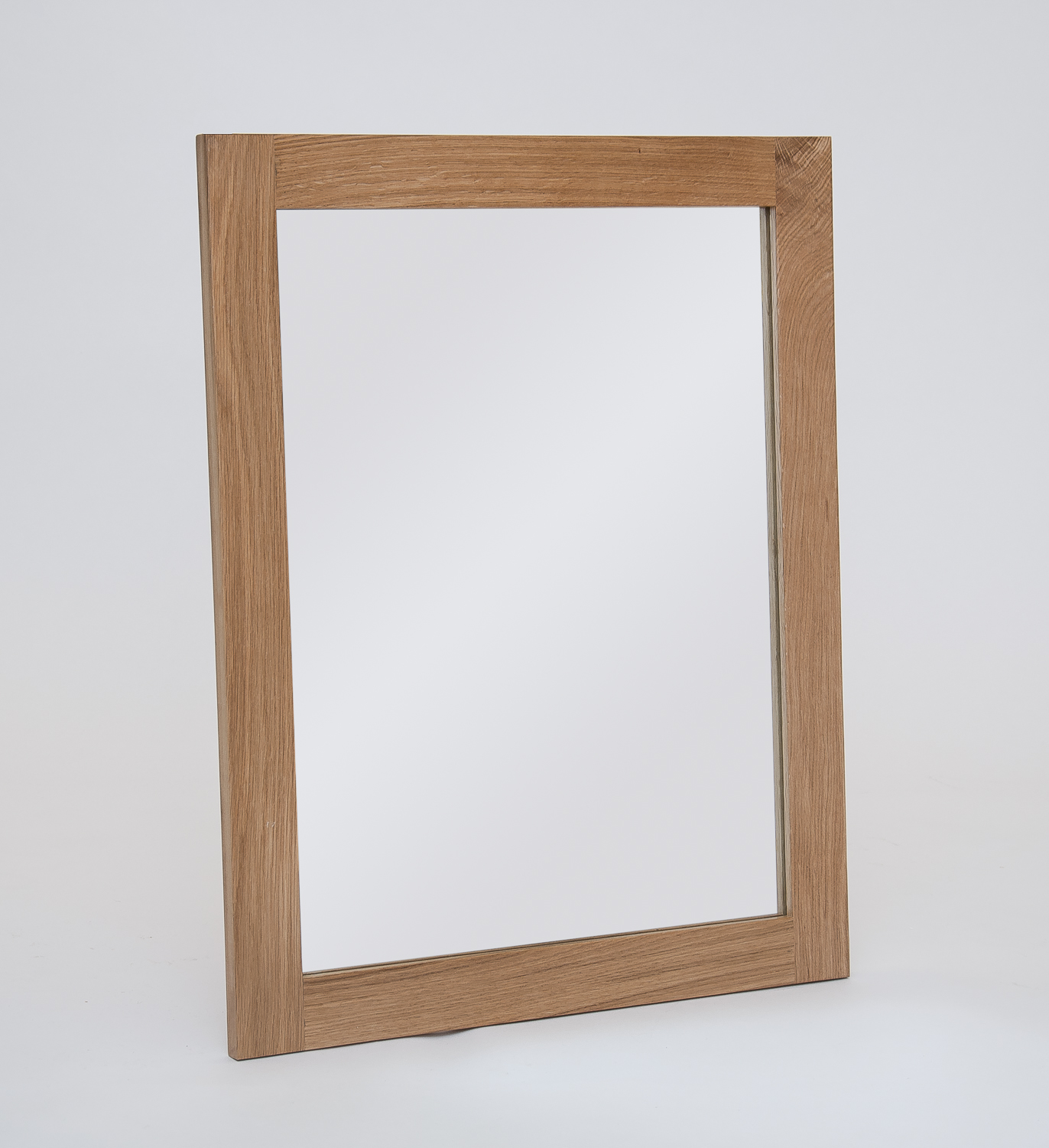 Hereford Oak Small Wall Mirror